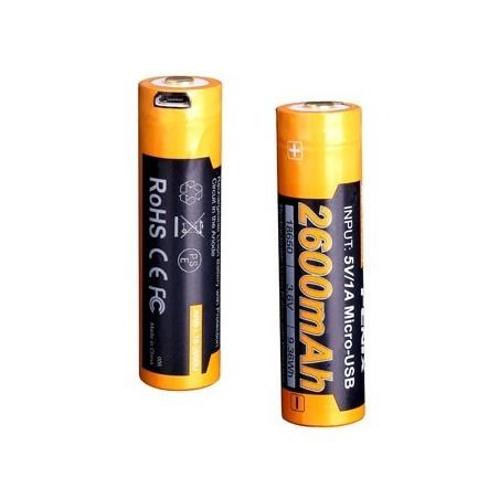 Bateria Fenix 18650 de 2600 mAh ARB-L18-2600U